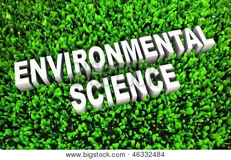 Environmental Science Study of Environment in 3D