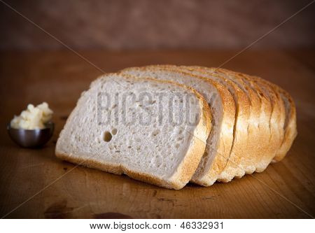 Fresh Sliced Bread