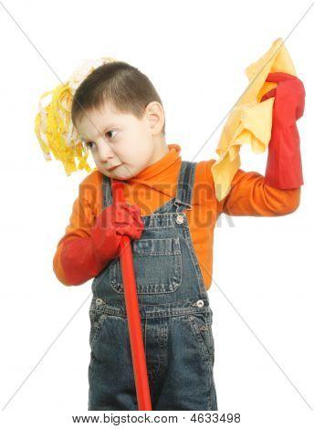 Displeased Cleaner