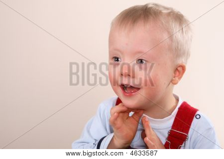 Young Boy With Special Needs