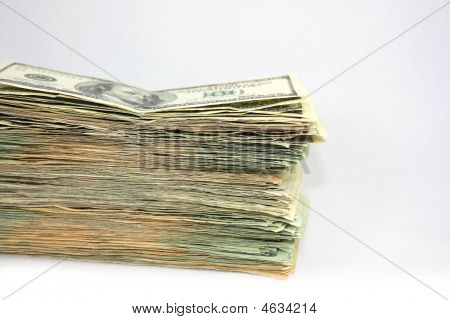 Large Stack Of Money