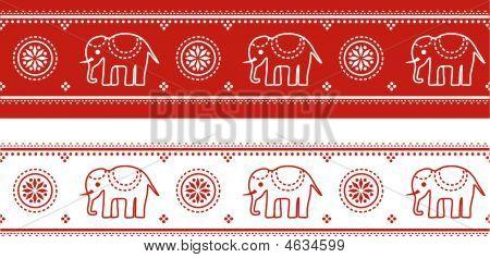 Asian Elephant Border