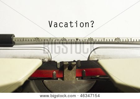 Vacations Or Holidays