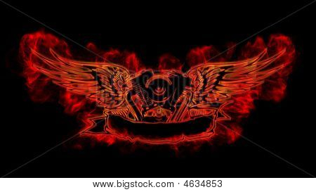 Motowings In Flame