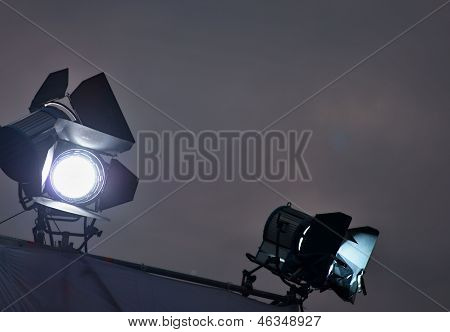 The Searchlight Shines In The Dark