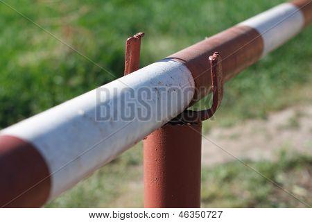 barrier close-up