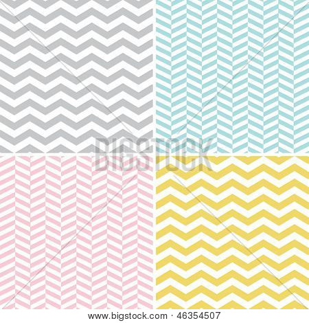 Seamless Zigzag (Chevron) Patterns