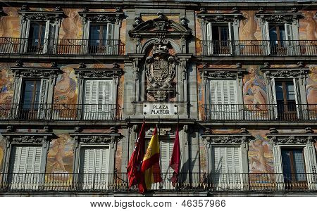 Plaza Mayor Madrid. Spain