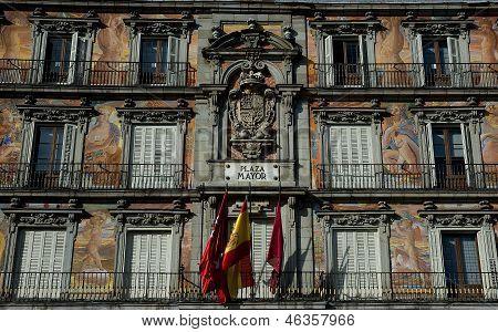 Plaza Mayor Madrid. Spain