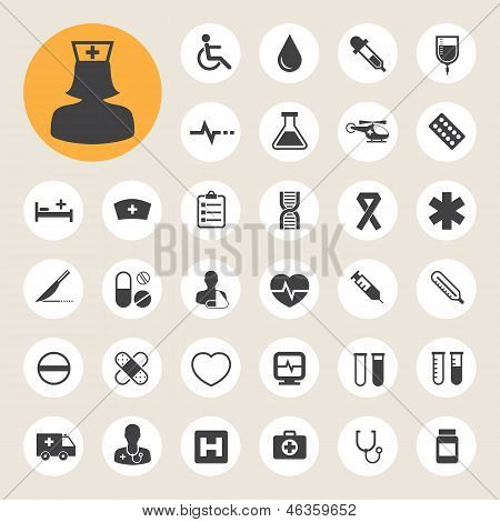Medical Icons Set,illustration