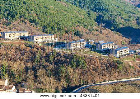 Camarda New Town, Gran Sasso, Abruzzo, Italy