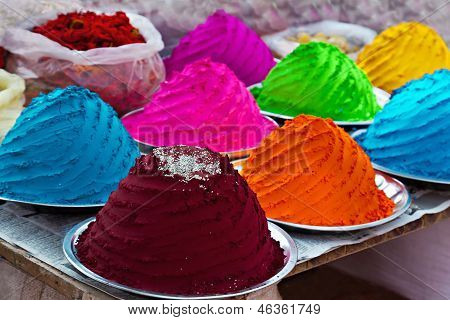 Indian Colorful Powder