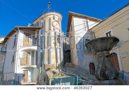 Camarda Village, Gran Sasso Abruzzo, Italy