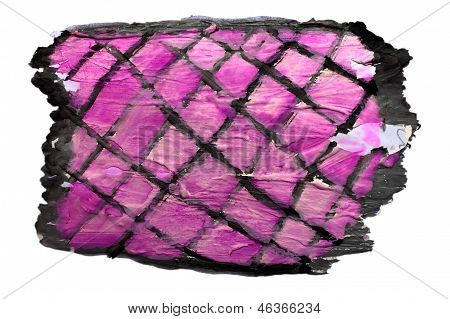 art net purple black watercolor isolated for your design