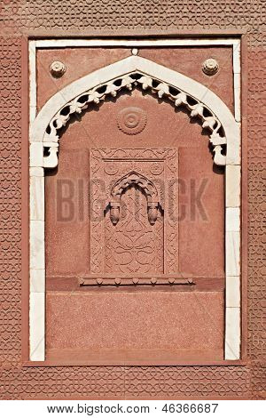 Alcove, Agra Fort