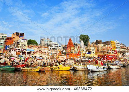 Ghats On Ganga