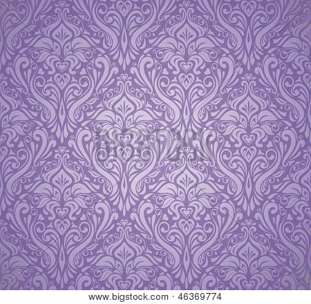 violet luxury vintage wallpaper