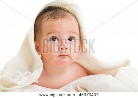 boy isolated on white background
