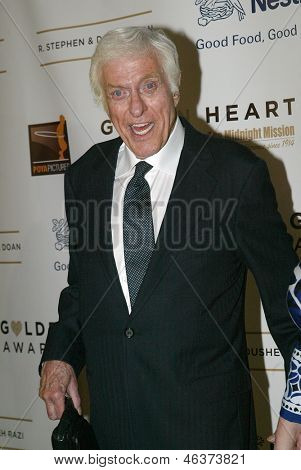 BEVERLY HILLS - MAY 7: Dick Van Dyke arrives at The 12th Annual Golden Hearts Awards presented by The Midnight Mission on Monday, May 7, 2012 at the Beverly Wilshire Hotel in Beverly Hills, CA.