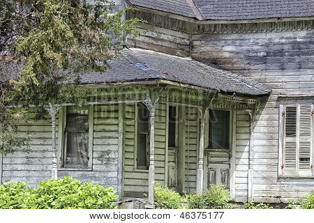 Old, abandoned house