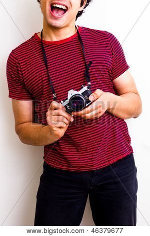 Happy And Geeky Photographer