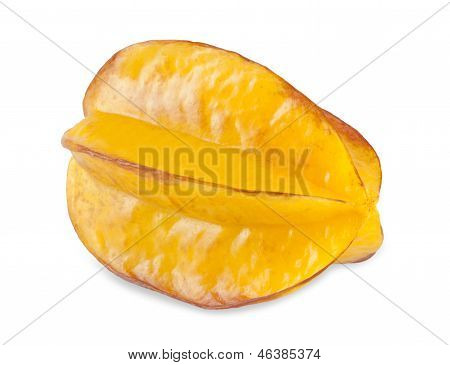 Carambola On The White