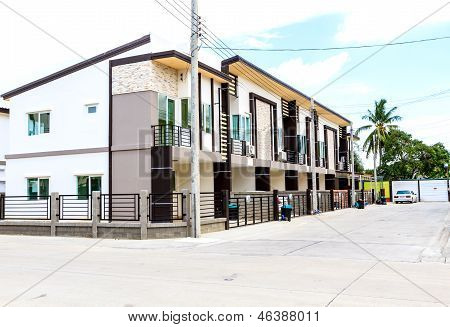 Townhouses In Thailand