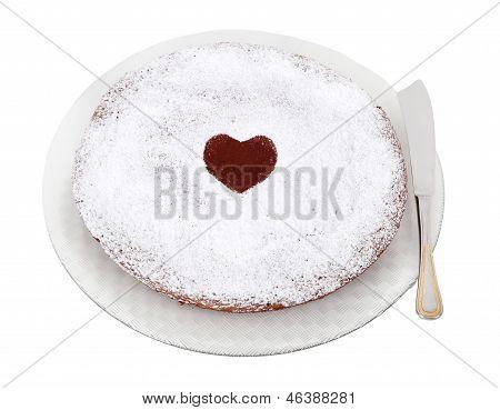 A Typical Italian Cake Torta Caprese