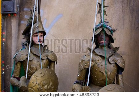 Traditional Sicilian Puppets