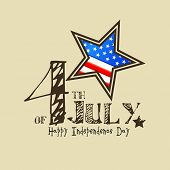 pic of labourer  - background for Fourth of July American Independence Day - JPG