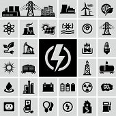 picture of electricity pylon  - Energy - JPG