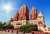 image of laxmi  - Laxmi Narayan temple in New Delhi India - JPG