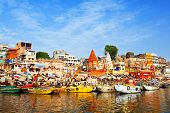 Ghats am Ganges