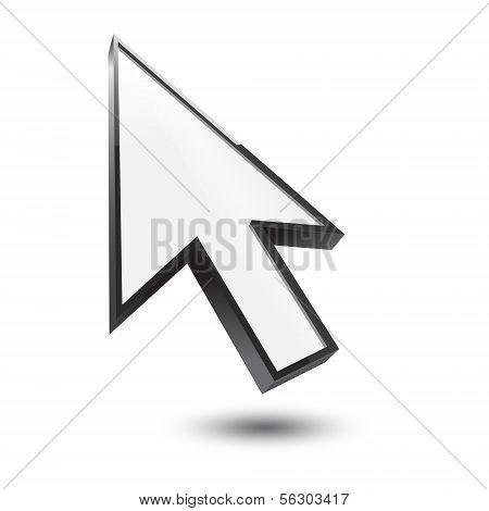 Cursor 3D Icon