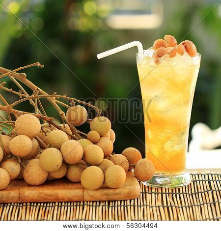 Longan Juice Cold Water