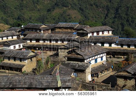 Beautiful Gurung village Ghandruk