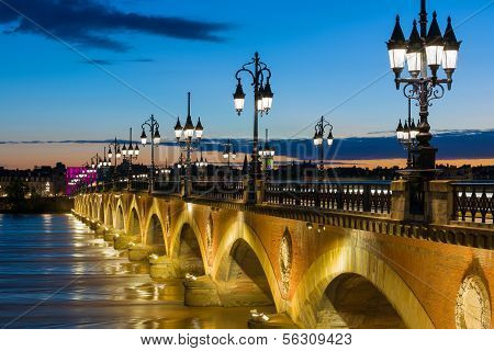 Summer Night In Bordeaux
