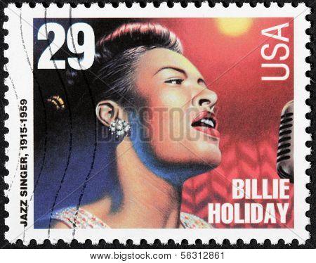 Billie Holiday Stamp
