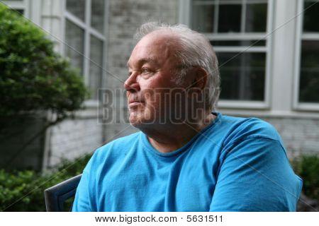 Forward Looking Senior Citizen