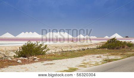 Meer-Salz-Bergbau