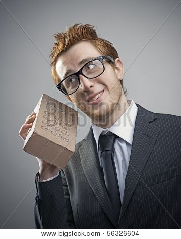 Nerd Businessman