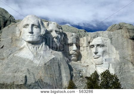Monte Rushmore nacional Monumet, o Black Hills, South Dakota.
