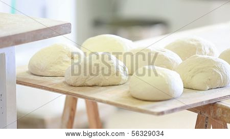 Making rustic bread