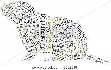 Tag Or Word Cloud Groundhog Day Related