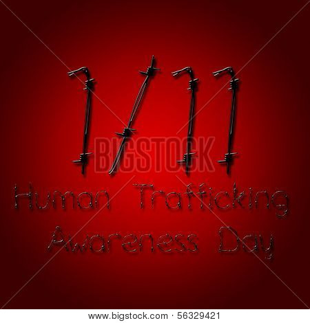 Graphic Design Human Trafficking Awareness Day Related