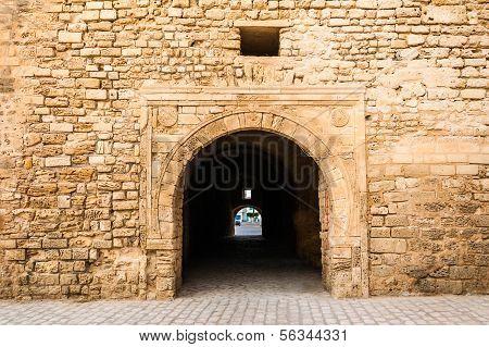 Slifa Kahla, Ancient Gate Of The City Of Mahdia, Tunisia
