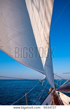 Sailboat At The Ocean