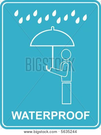 Waterproof - Sign