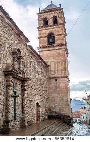 Iglesia San Francisco In Potosi