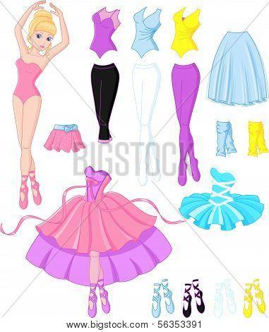 Ballerina dresses.eps